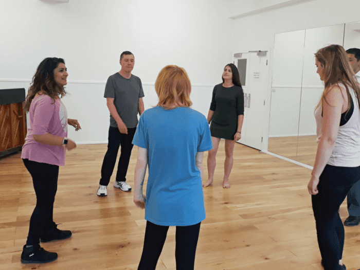 Inside Our Musical Theatre Company Rehearsals