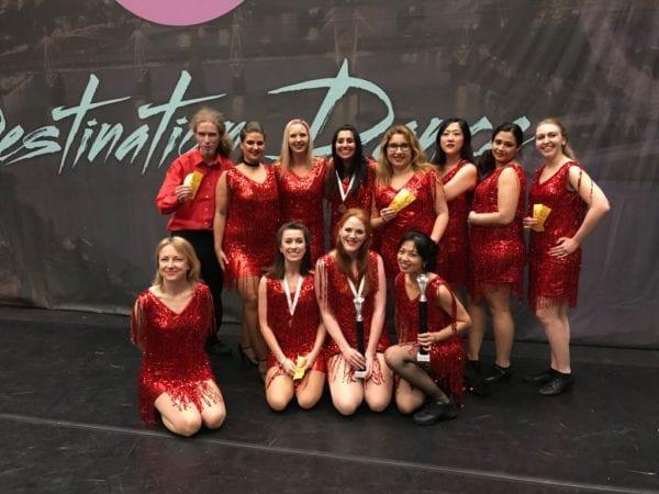 Our Dance Company Win at Destination Dance 2017