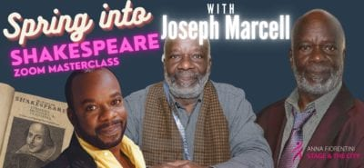 SPRING INTO SHAKESPEARE with JOSEPH MARCELL